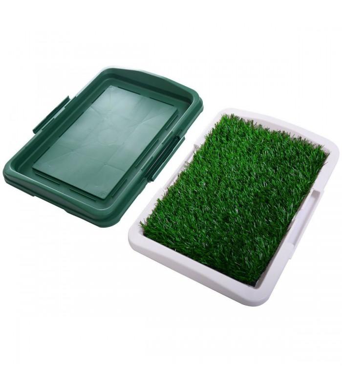 Кучешка тоалетна с изкуствена трева - 6