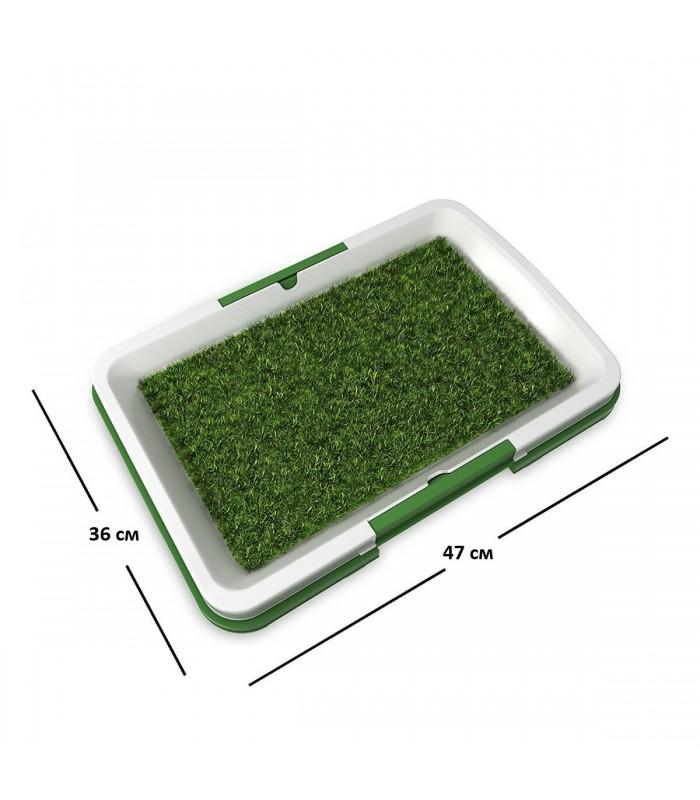 Кучешка тоалетна с изкуствена трева - 4