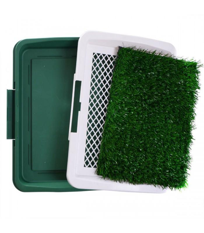 Кучешка тоалетна с изкуствена трева - 3