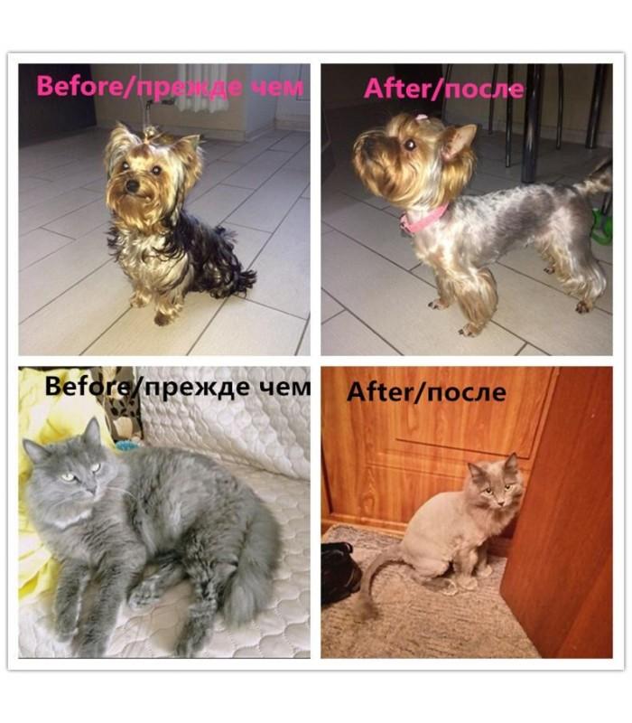 Безжична машинка за подстригване на кучета и котки - 11