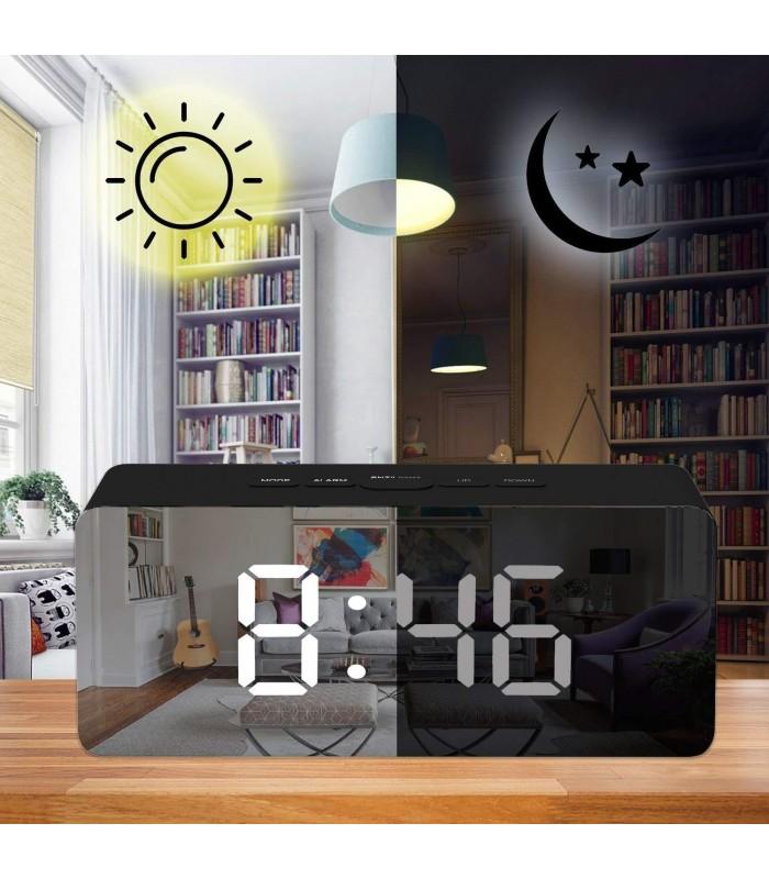 Настолен огледален часовник - 4