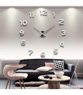 3D стенен часовник с арабски цифри