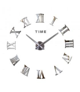 Стенен 3D часовник с римски цифри - 2