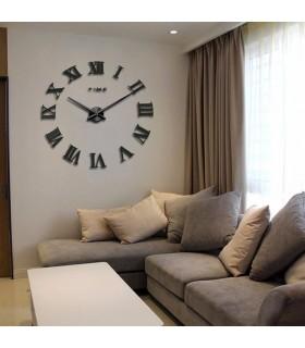 Стенен 3D часовник с римски цифри - 4