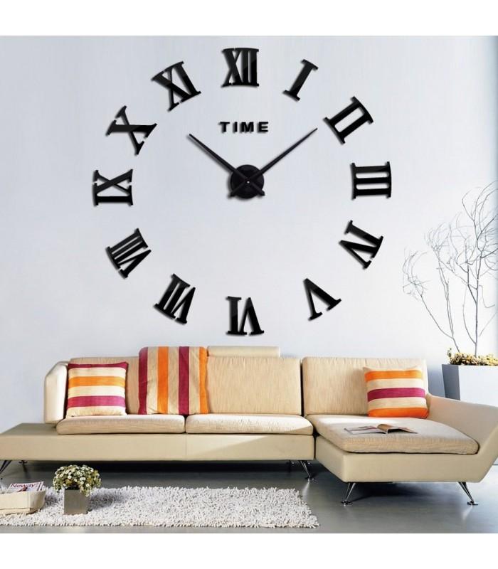 Стенен 3D часовник с римски цифри - 5