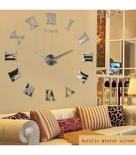 Стенен 3D часовник с римски цифри