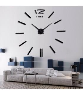 Самозалепващ 3D стена часовник - код 4203 - 3