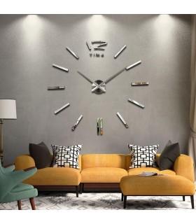 Самозалепващ 3D стена часовник - код 4203 - 2