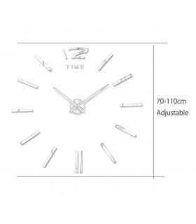 Самозалепващ 3D стена часовник - код 4203 - 11