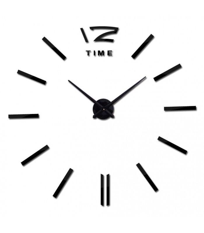 Самозалепващ 3D стена часовник - код 4203 - 5