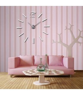 Самозалепващ 3D стена часовник - код 4203 - 9