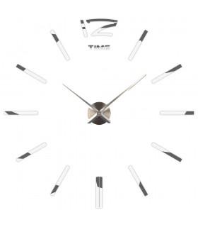 Самозалепващ 3D стена часовник - код 4203 - 4