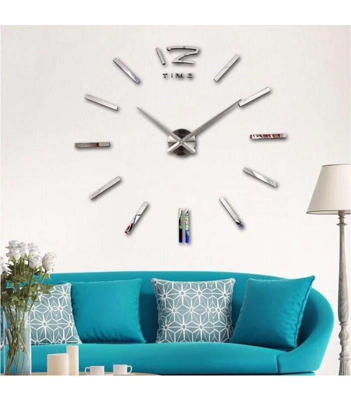 Самозалепващ 3D стена часовник - код 4203 - 10