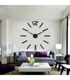 Самозалепващ 3D стена часовник - код 4203 - 13