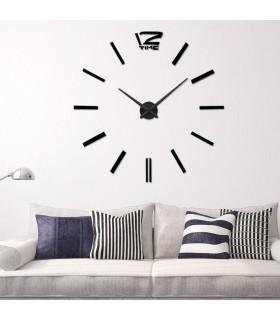 Самозалепващ 3D стена часовник - код 4203 - 14