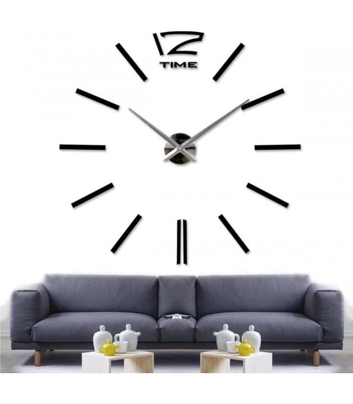 Самозалепващ 3D стена часовник - код 4203 - 15