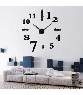Лепящи 3D часовник за стена - модел 4215 - 7