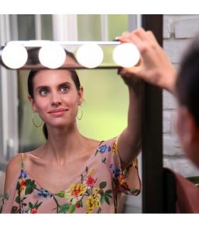 4 LED лампи за огледало Studio Glow - 1