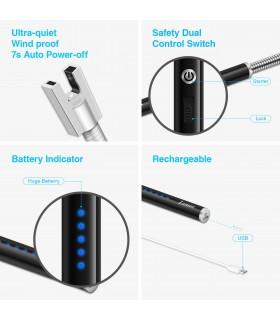 USB запалка с волтова дъла и гъвкав накрайник - 6