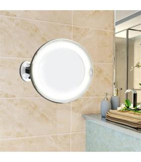 Огледало с увеличение 10Х, LED светлина и захващане с вакуум - 8