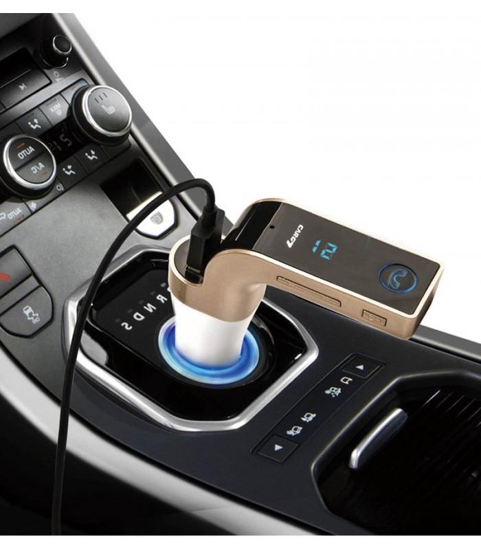 Bluetooth MP3 трансмитер за кола с USB - 1