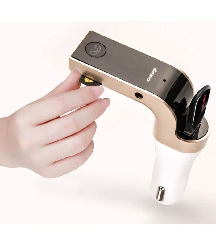 Bluetooth MP3 трансмитер за кола с USB - 2