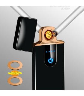 Ветроустойчива USB запалка с тъч бутон - модел 006 - 2
