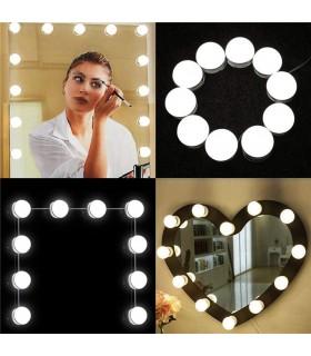 Самозалепващи се LED лампи за огледало - 1