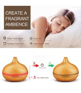 Арома дифузер с етерични масла за ароматерапия - 4