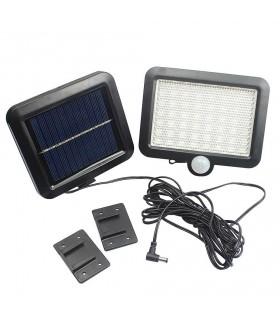Външна лампа със соларен панел и датчик за движение