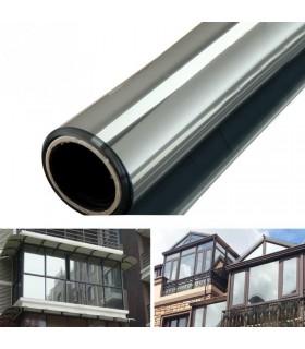 Слънцезащитно отразяващото фолио за затъмняване на прозорци - 1