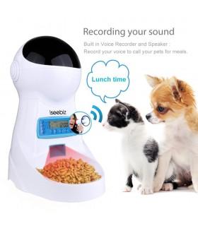 Автоматична хранилка за кучета и котки