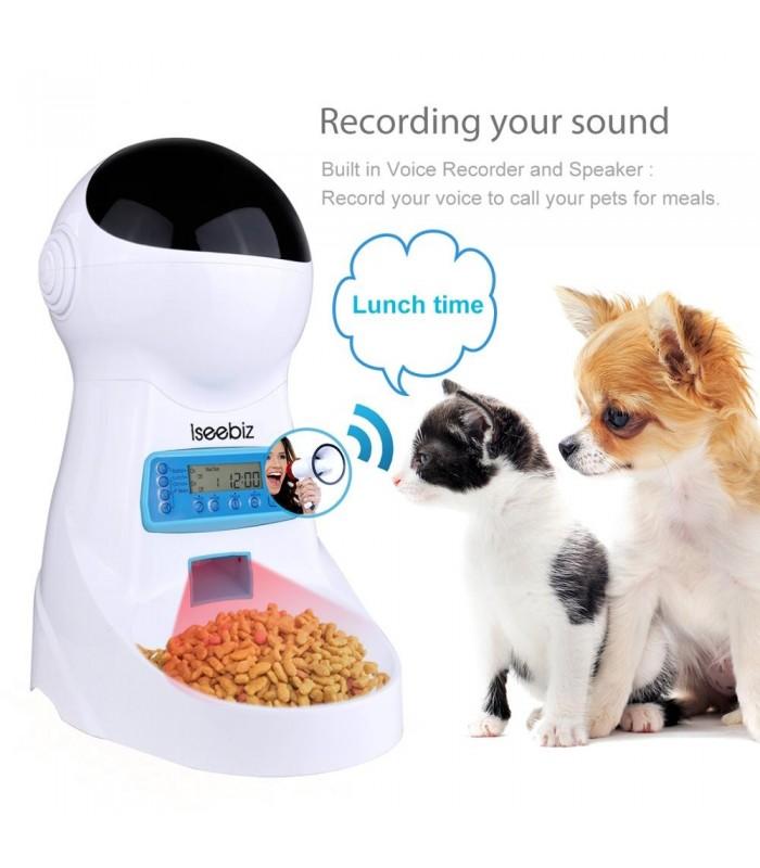 Автоматична хранилка за кучета и котки - 1