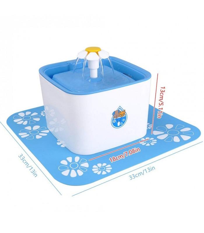 Автоматичен воден фонтан поилка за котки и кучета - 3