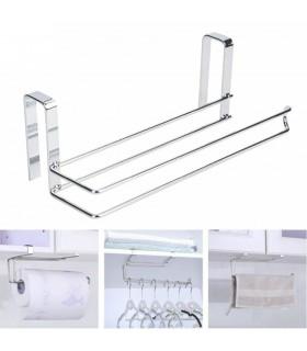 Хромирана поставка органайзер за кухненска ролка - 10