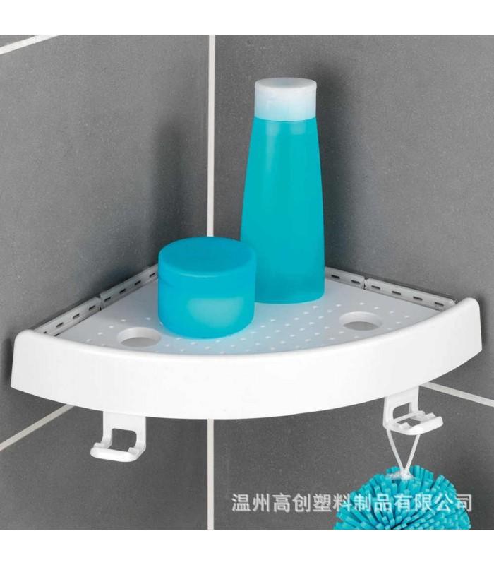 Ъглова етажерка за баня с вакуум Snap Up - 6