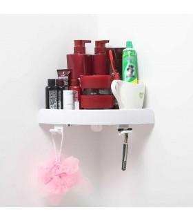 Ъглова етажерка за баня с вакуум Snap Up - 9