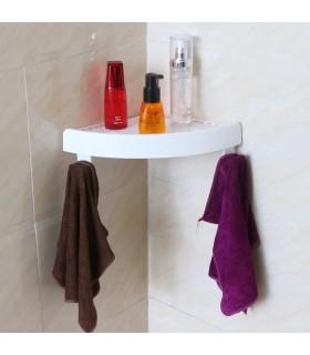 Ъглова етажерка за баня с вакуум Snap Up - 7