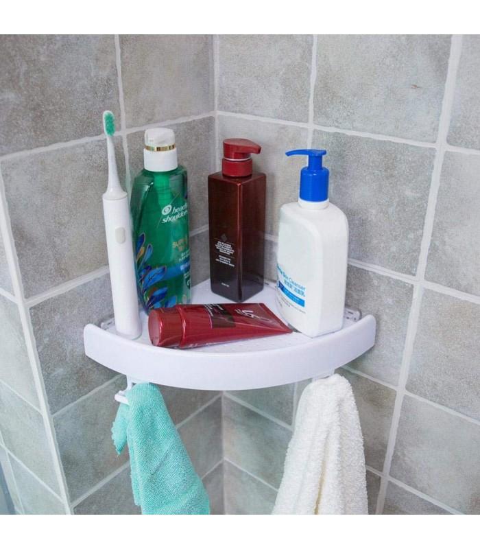 Ъглова етажерка за баня с вакуум Snap Up - 1
