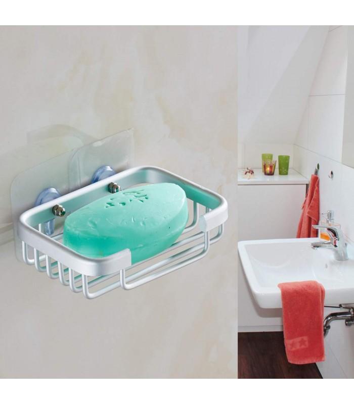 Поставка за сапун за баня БЕЗ ПРОБИВАНЕ - 1