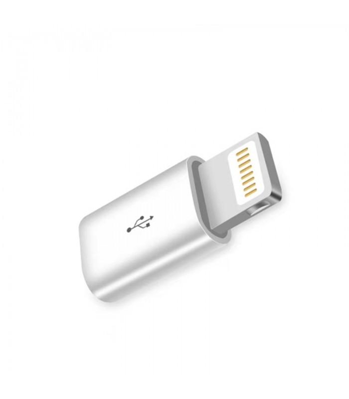 Преходник Micro USB към Iphone 5 6 7 и 8 - 1