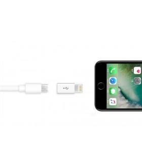 Преходник Micro USB към Iphone 5 6 7 и 8 - 3