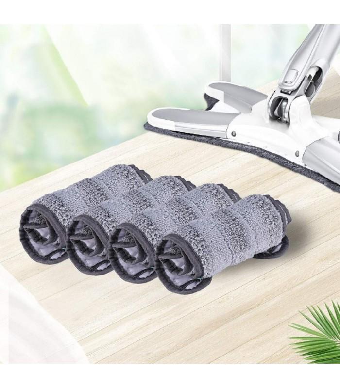 Х-образен моп с за под с дръжка за изцеждане на водата - 12