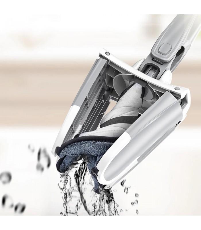 Х-образен моп с за под с дръжка за изцеждане на водата - 2