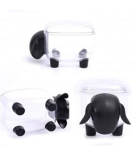 Кутия за клечки за уши и клечки за зъби с форма на овца - 7