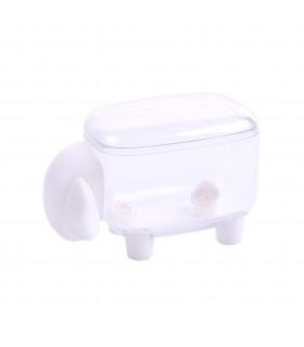 Кутия за клечки за уши и клечки за зъби с форма на овца - 8
