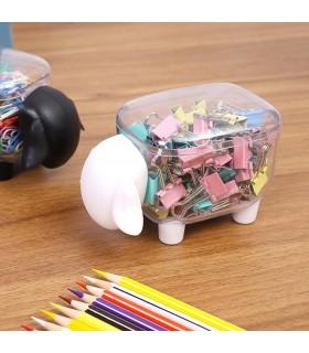 Кутия за клечки за уши и клечки за зъби с форма на овца - 5
