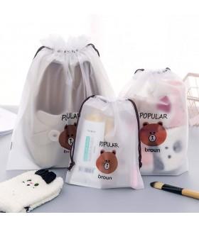 Козметични торбички при пътуване с мечета - 1