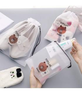 Козметични торбички при пътуване с мечета - 2