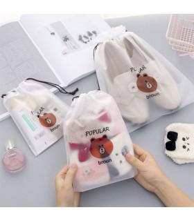 Козметични торбички при пътуване с мечета - 6